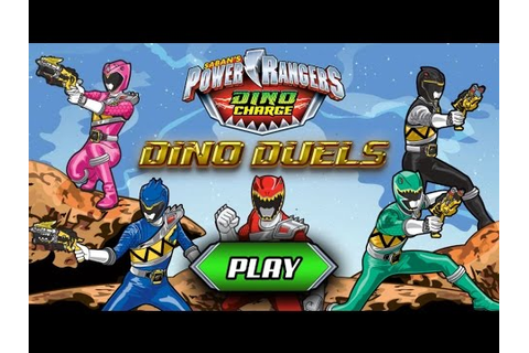 Games: Power Rangers Dino Charge - Dino Duels - YouTube