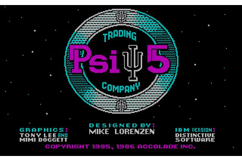 Download Psi 5 Trading Company vehicle simulation for DOS ...