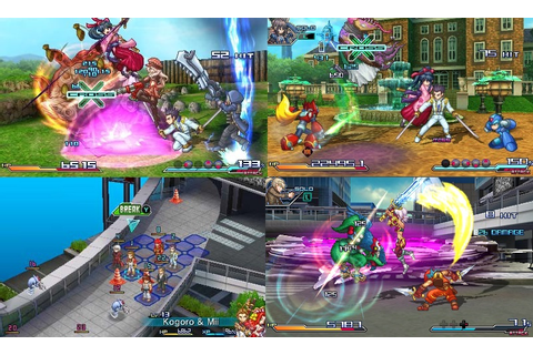 Gaming Nomad's Reviews : Project X Zone (3DS) Game Review