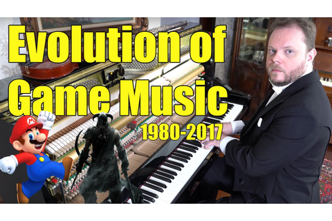Evolution of Game Music (1980 - 2018) - YouTube