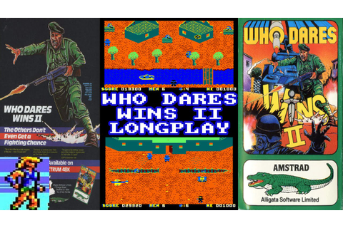 [AMSTRAD CPC] Who Dares Wins II - Longplay & Review - YouTube