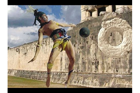 Mayan Ball Game Xcaret Mexico - YouTube