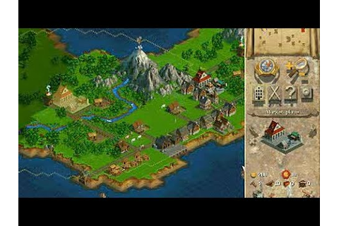 Anno 1602 (1998 PC/Windows) • Gameplay compilation, max ...