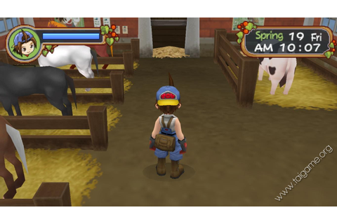 Harvest Moon: Hero of Leaf Valley - Tai game | Download ...