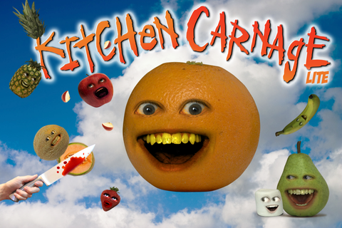 Annoying Orange: Kitchen Carnage Lite Games Action ...