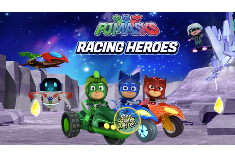 PJ Masks: Racing Heroes | Race with Catboy, Owlette and ...
