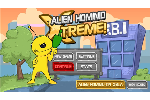 Alien Hominid Xtreme Hacked (Cheats) - Hacked Free Games