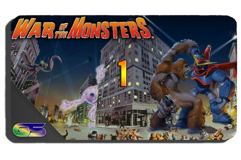 War of the Monsters - Remastered (PS4) Gameplay ...