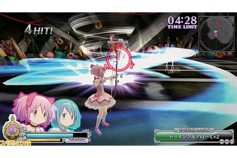 Madoka Magica: The Battle Pentagram is a PS Vita game ...