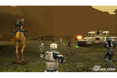 Star Wars Battlefront 3 PSP exclusive- features Han Solo ...