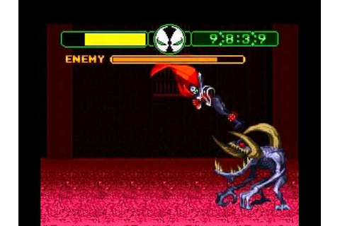 Spawn SNES Game - Spawn Vs. Violator - YouTube
