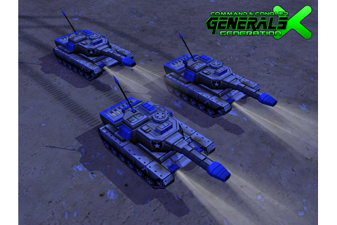 Laser Tanks Ingame image - Generation X mod for C&C ...