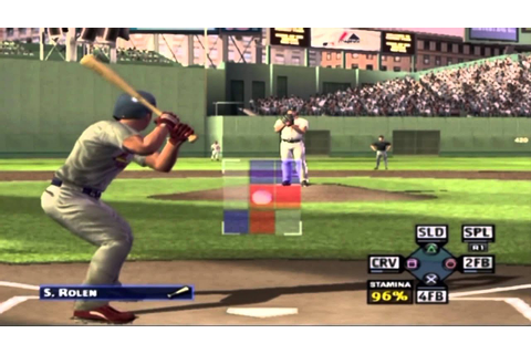 MVP Baseball 2005 Playstation 2 Gameplay EA Sports 2005 HD ...