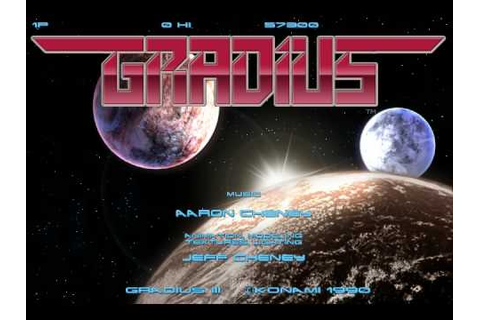 Gradius III - Tribute - YouTube