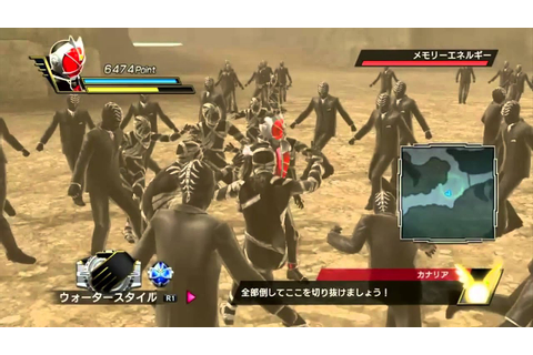 Kamen Rider: Battride War- Wizard Gameplay - YouTube