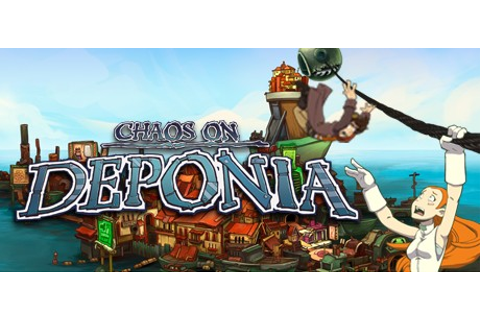 Chaos on Deponia on Steam