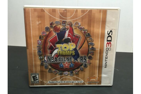 Top Trumps: NBA All Stars (Nintendo 3DS, 2012) | eBay