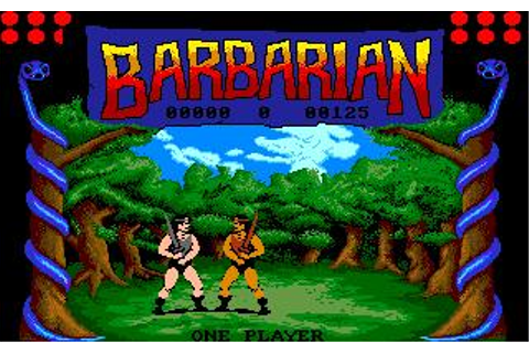 Barbarian: The Ultimate Warrior Download (1987 Amiga Game)