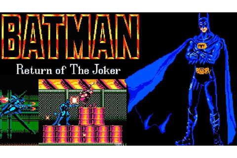 Batman - Return of The Joker (NES) | Playthrough - YouTube