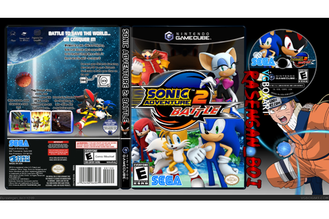 Sonic Adventure 2 Battle GameCube Box Art Cover by ...