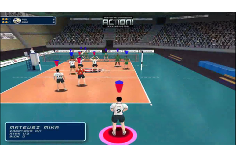 volleyball 2014 poland pc game - YouTube