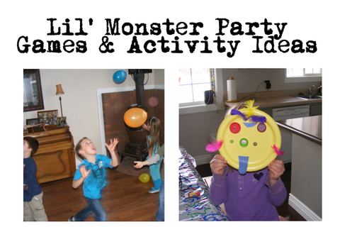 Little Monster Bash -Birthday Party Ideas - CafeMom