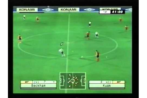 international superstar soccer 3 iss3 konami PS2 - YouTube
