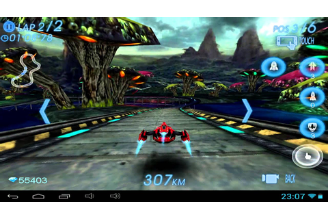 Space Racing 3D - Android gameplay GamePlayTV - YouTube