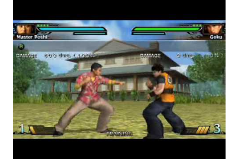 Dragonball: Evolution PSP Gameplay - YouTube