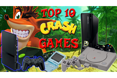 Top 10 Crash Bandicoot Games! - YouTube