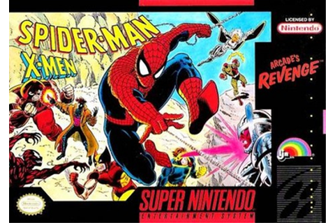Spider-Man and the X-Men in Arcade's Revenge - Wikipedia
