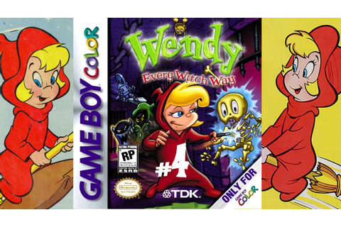 Wendy: Every Witch Way | Game Boy Color/Gameplay/Full HD ...