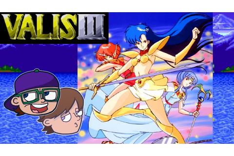 Valis 3 Genesis Gameplay | Anime Action Game Valis III ...