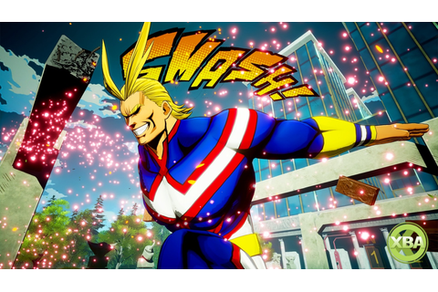 My Hero Game Project Iconic Hero 'All Might' Will be a ...