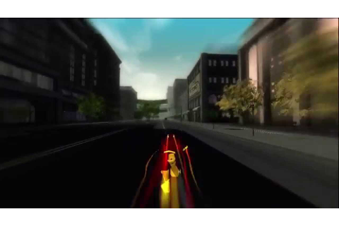 The Flash Video Game: Keystone City Art Test - YouTube