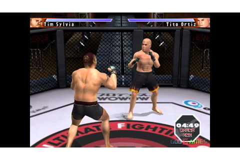 UFC: Sudden Impact - Gameplay PS2 HD 720P - YouTube