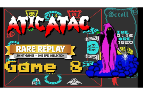 Atic Atac - RARE Replay Month (Game 8) - YouTube