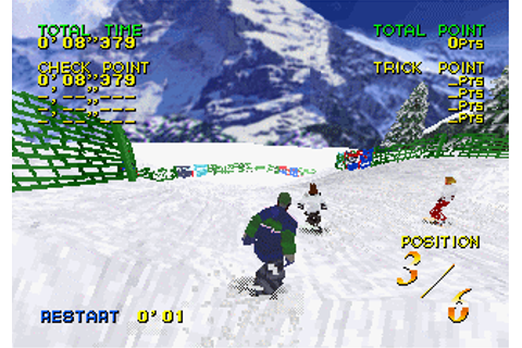 Zap! Snowboarding Trix'98 (1997) by Pony Canyon Saturn game