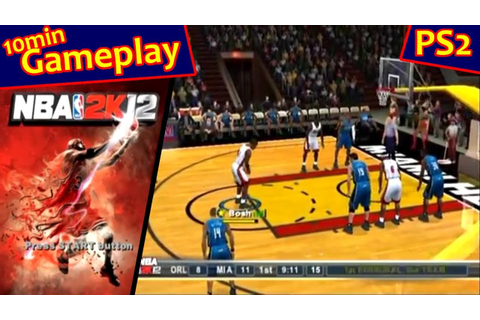 NBA 2K12 ... (PS2) - YouTube