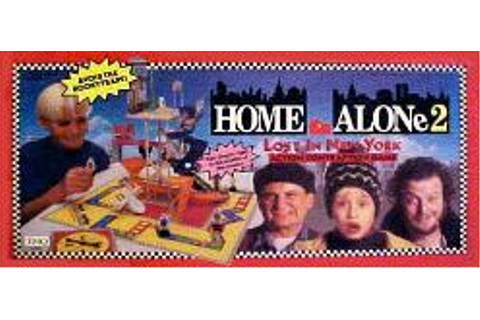 1992 Home Alone 2 Lost in New York Action Contraption game THQ
