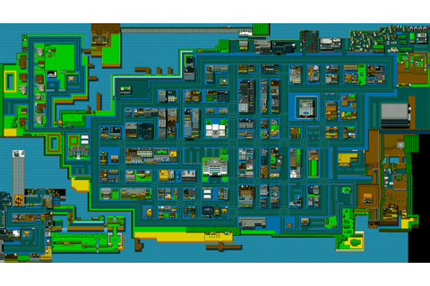 This Retro City Rampage Map Should Be Handy If You Get ...