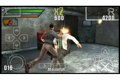 Dead to Rights Reckoning ISO Game PSP Highly Compressed ...