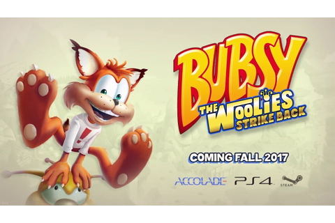 Bubsy: The Woolies Strike Back - Teaser Trailer - YouTube