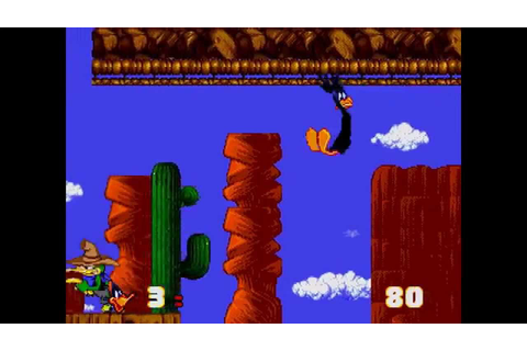 Daffy Duck in Hollywood ... (Sega Genesis) - YouTube