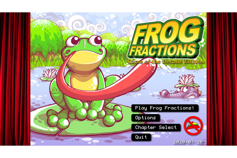 Review: Frog Fractions: Game of the Decade Edition: Hop's ...