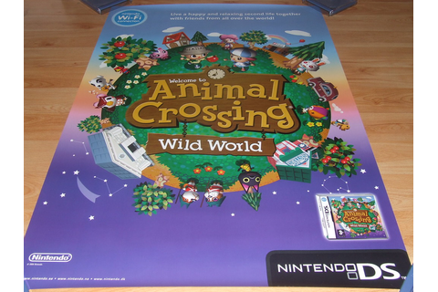 Animal Crossing Wild World | Video Game Posters | Flickr
