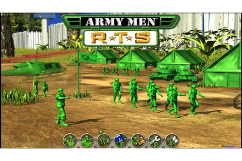 Army Men RTS (2002) gameplay (PC Game, 2002) - YouTube