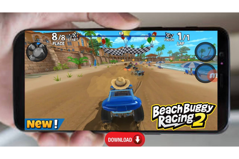 [ NEW ] Beach Buggy Racing 2 Game For Android - YouTube