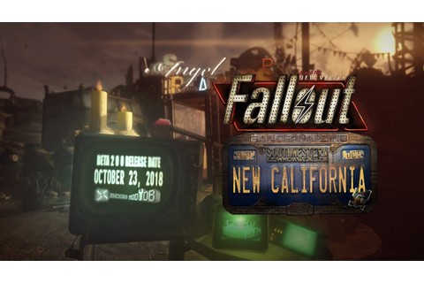 Fallout New California Narrative Trailer - With Release ...