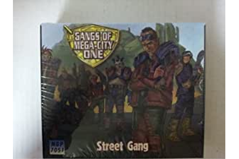 Amazon.com: Gangs of Mega-city One Street Gang: Toys & Games
